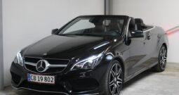 Mercedes E350 Cabriolet