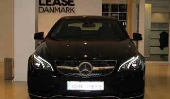 Mercedes E250 CDI AMG-styling full
