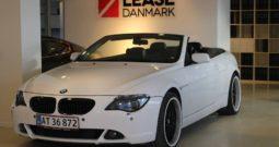 BMW 630i Cabriolet.