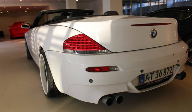 BMW 630i Cabriolet.  full