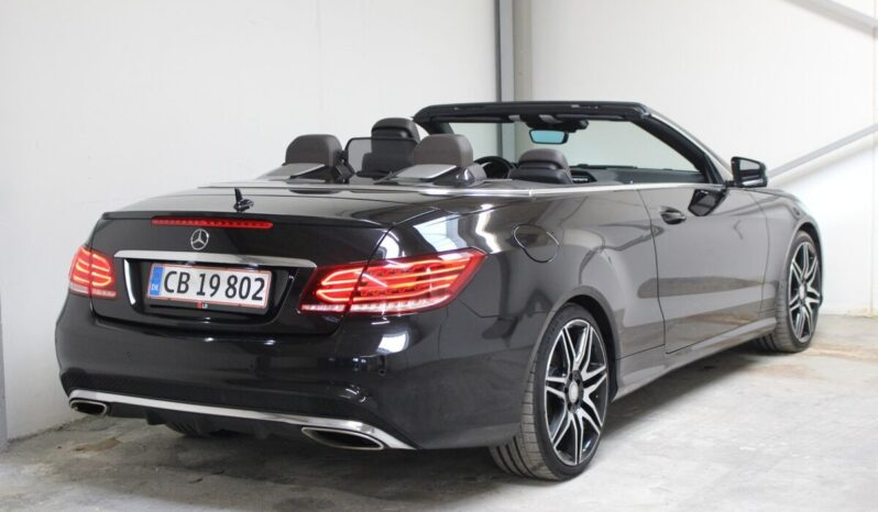 Mercedes E350 Cabriolet full