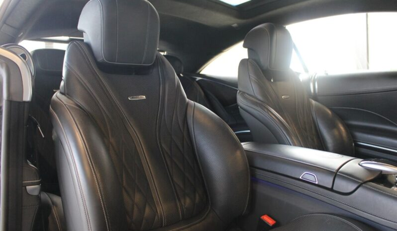 Mercedes Benz S 63 Coupé AMG full